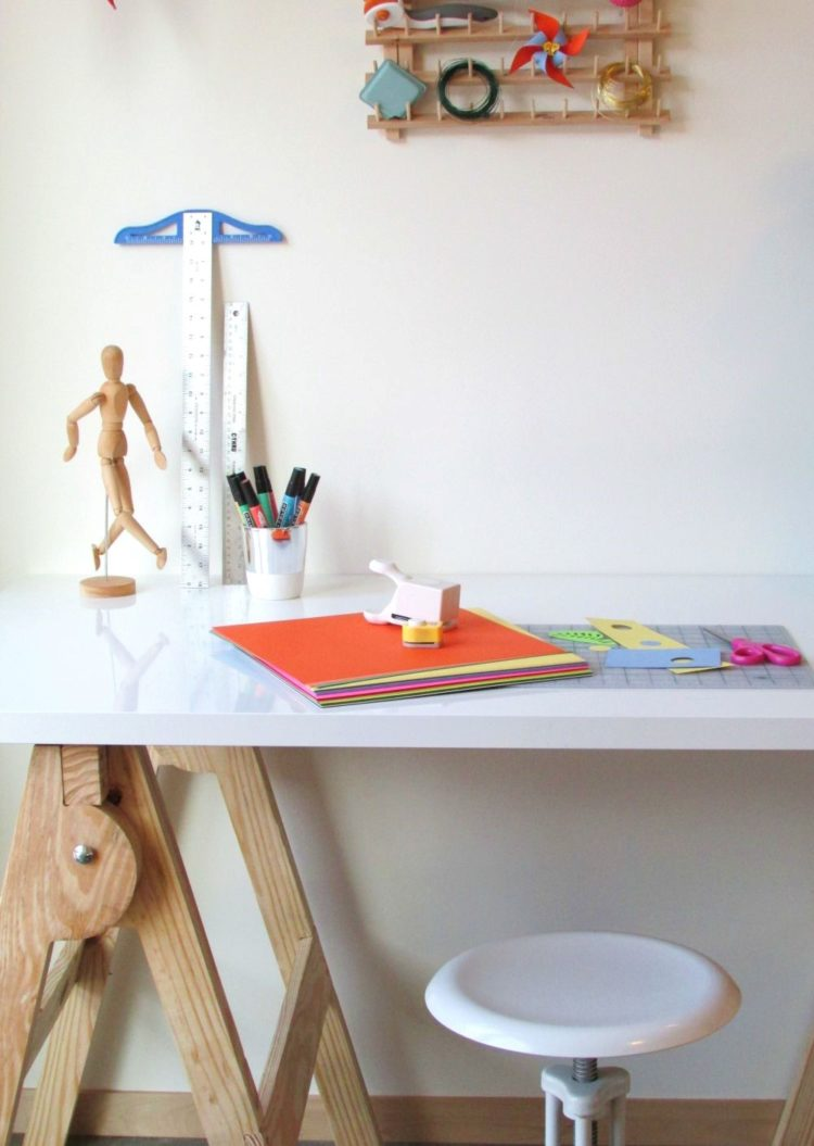 craft table hutch