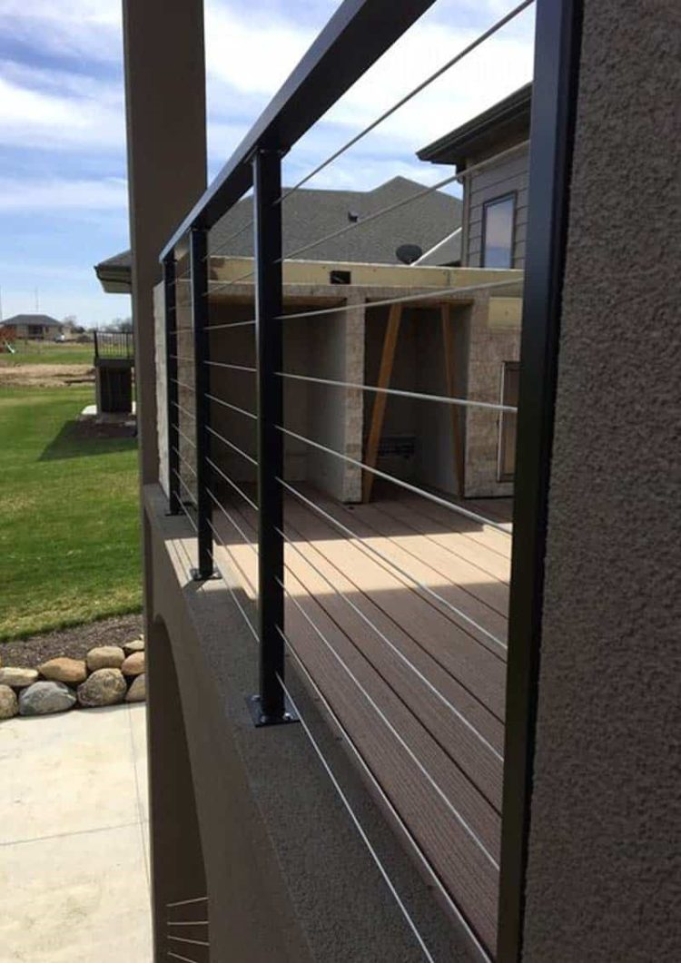 deck hand railing ideas