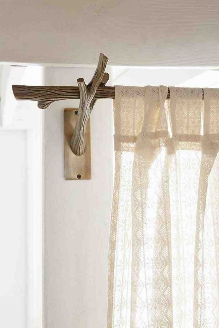 58 Decorative Curtain Rod Brackets You Can Make