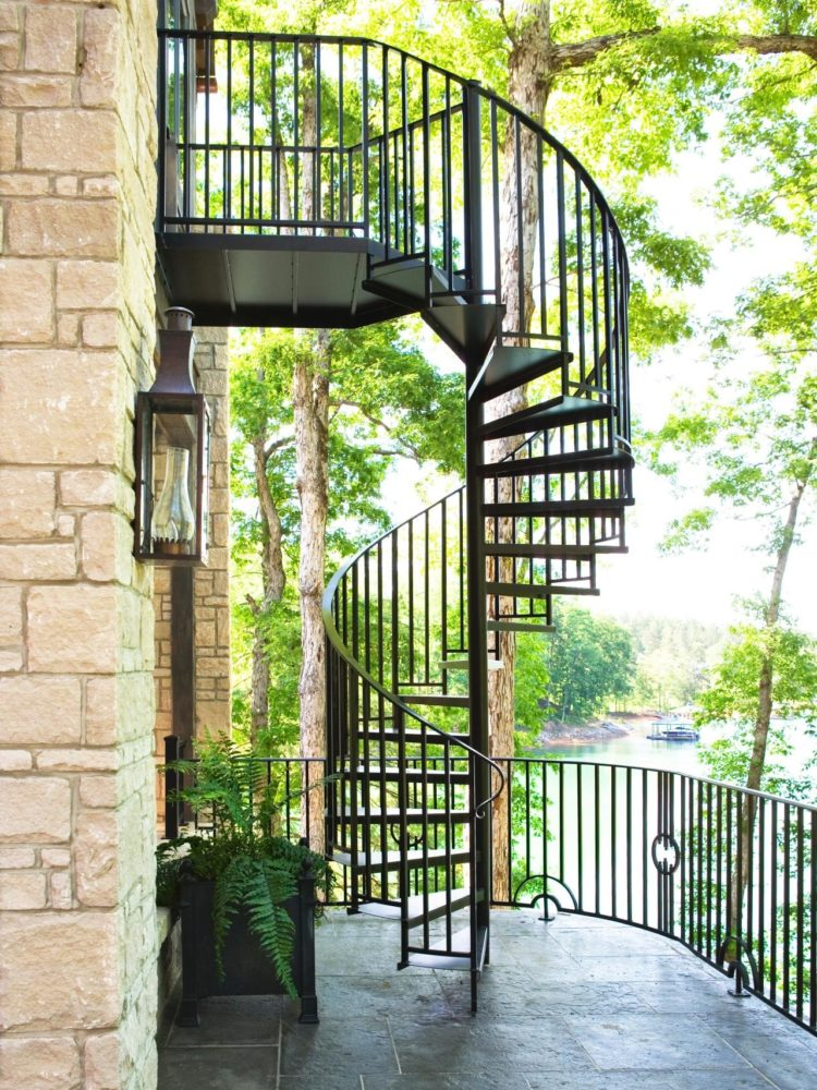 vinyl deck railing ideas