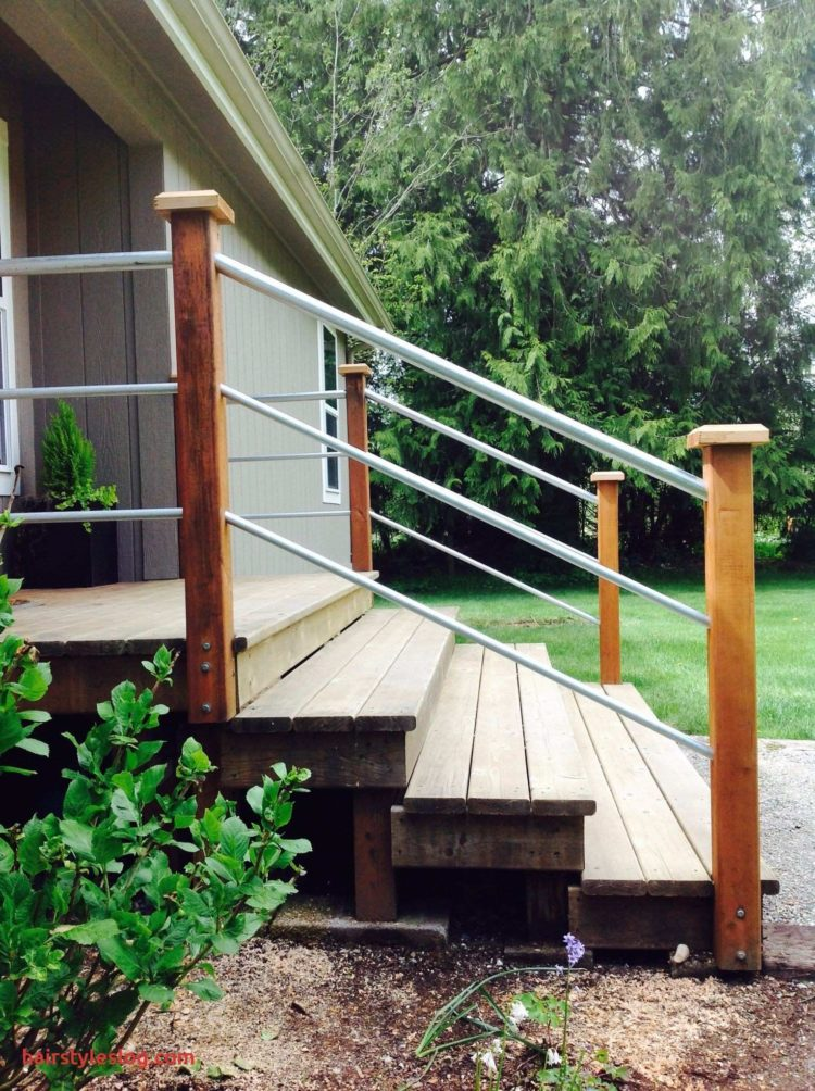 deck railing christmas light ideas