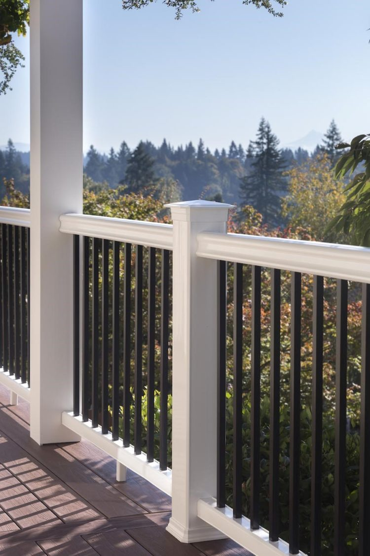 temporary deck railing ideas 2