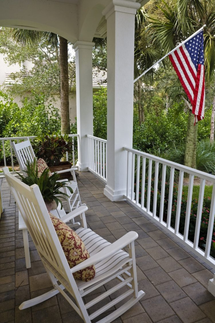 treated deck railing ideas 4