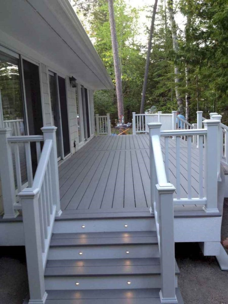 deck railing top ideas