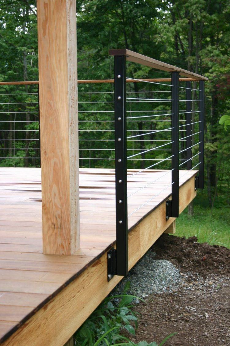 short deck railing ideas 1