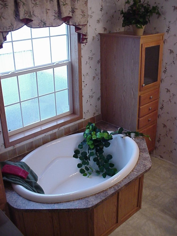 garden tub enclosure