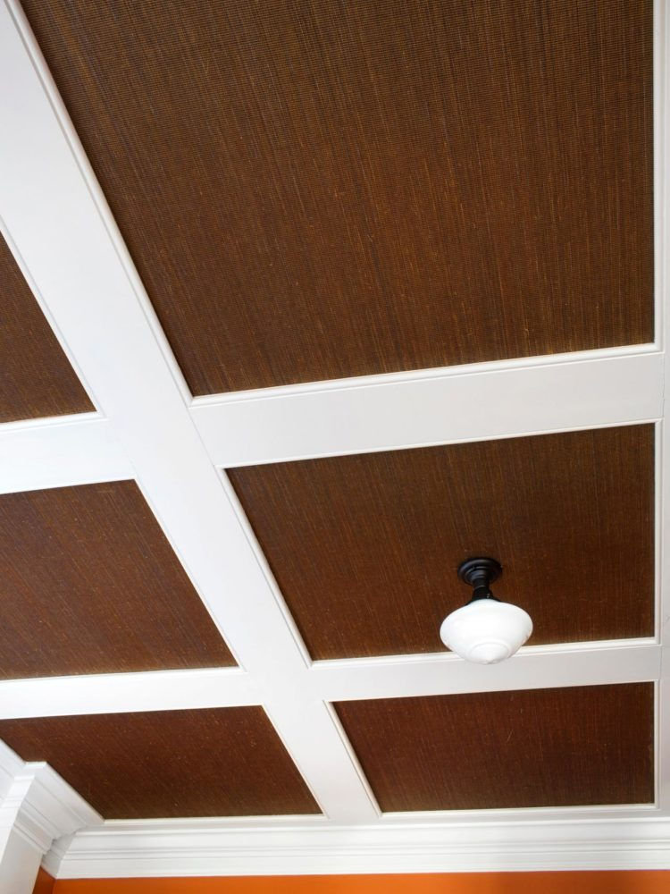 is a coffered ceiling structural