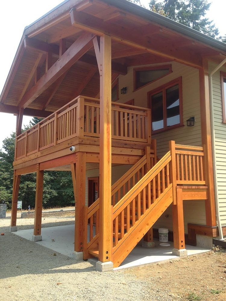 deck step railing ideas 2