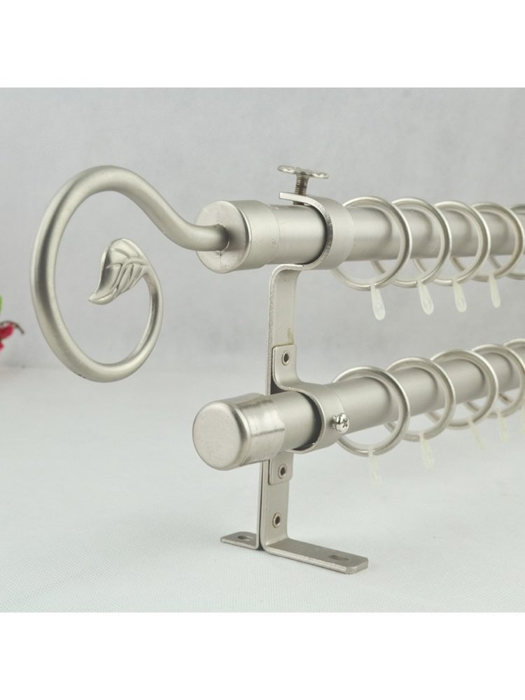 double curtain rod argos