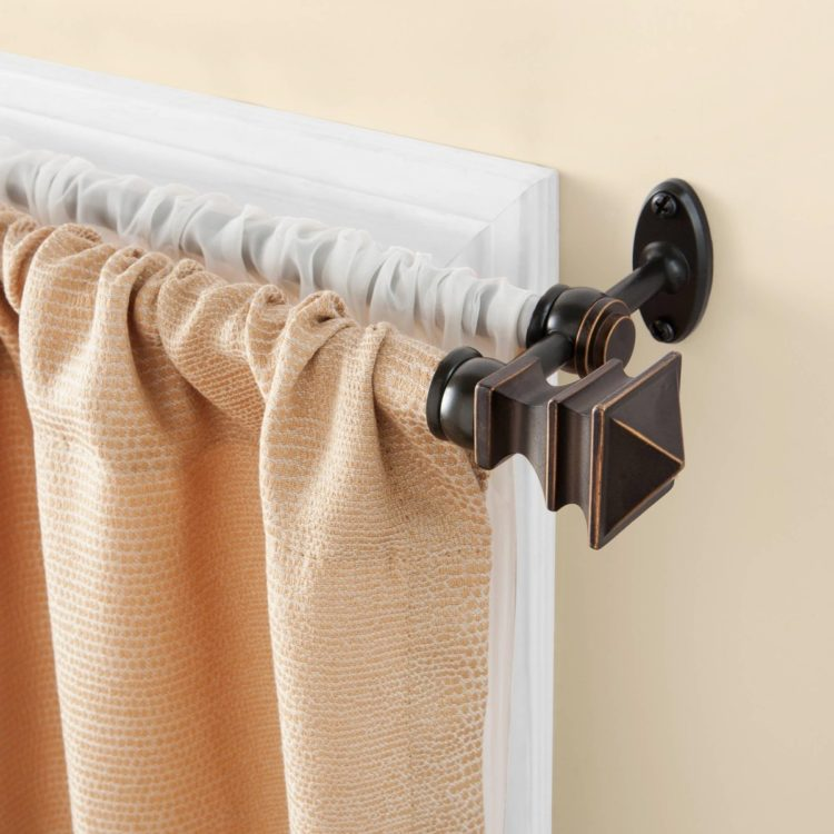 double curtain rod edmonton