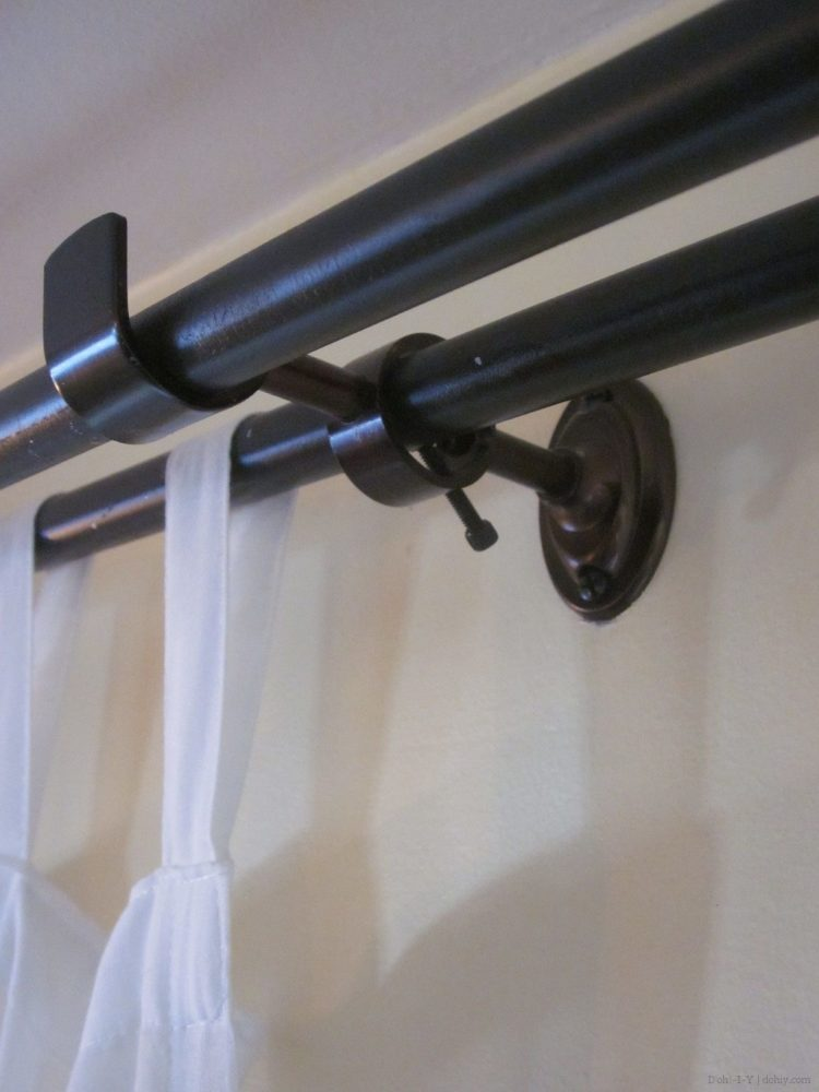 double curtain rod kohls