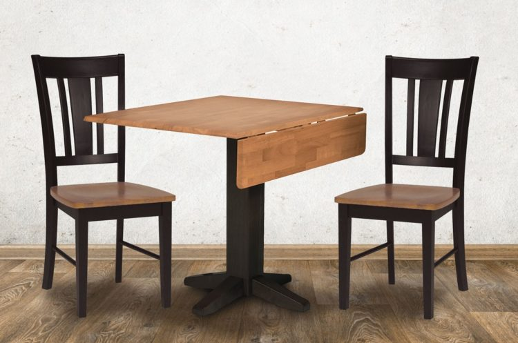 drop leaf table to seat 6
