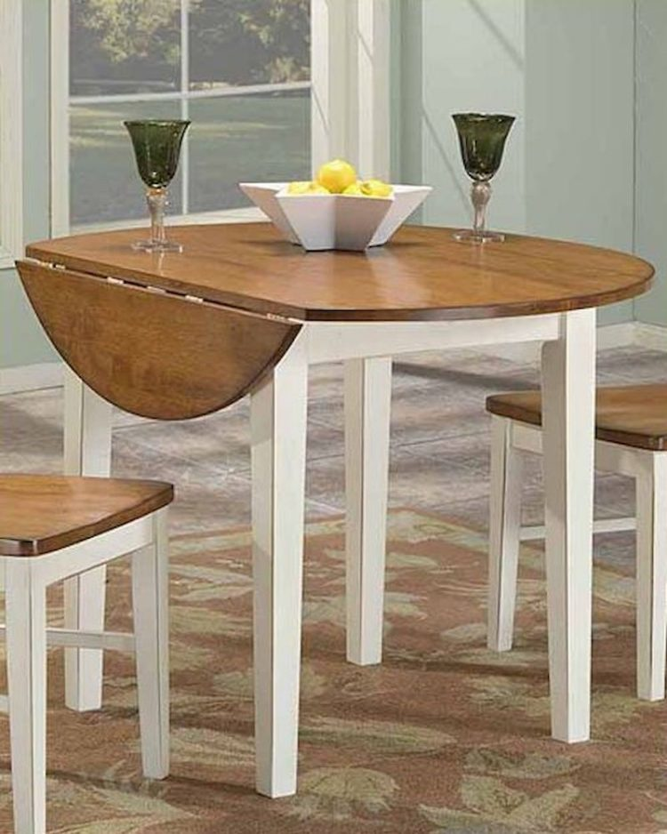 drop leaf table oval