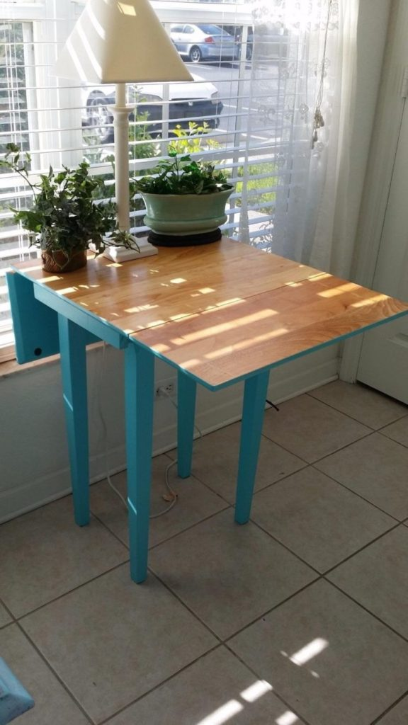 drop leaf table names