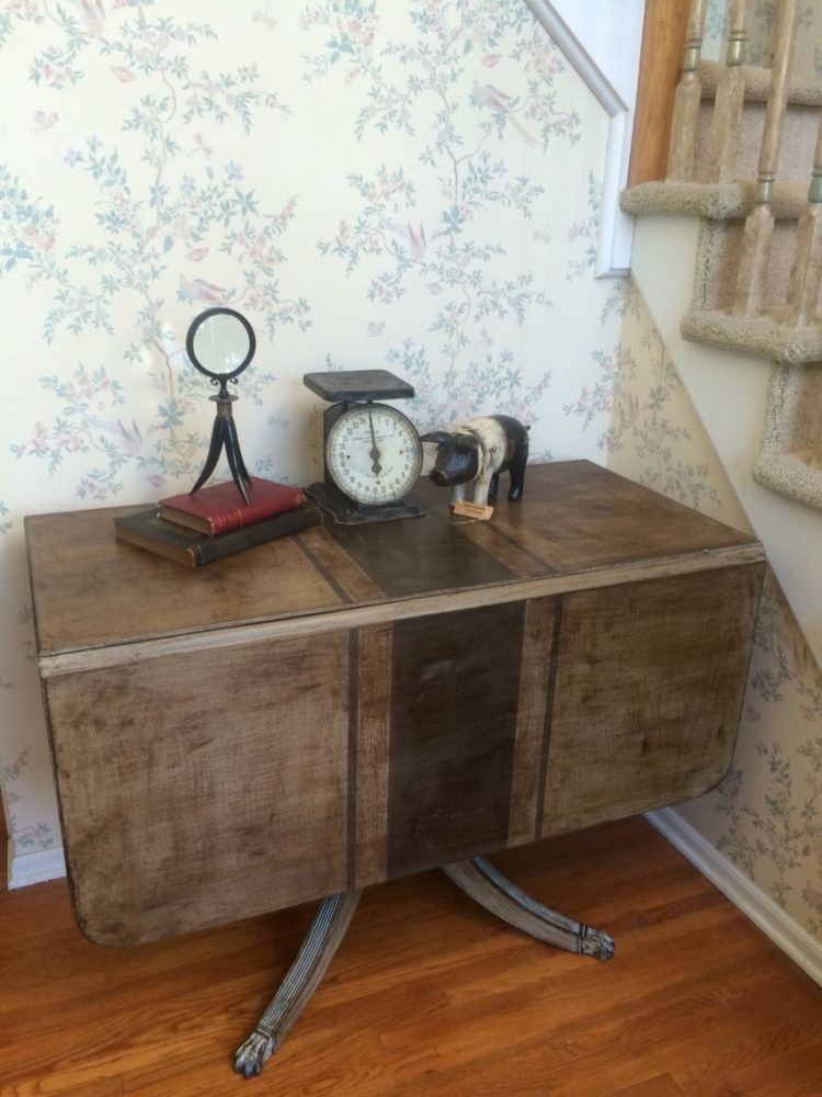 drop leaf table done deal