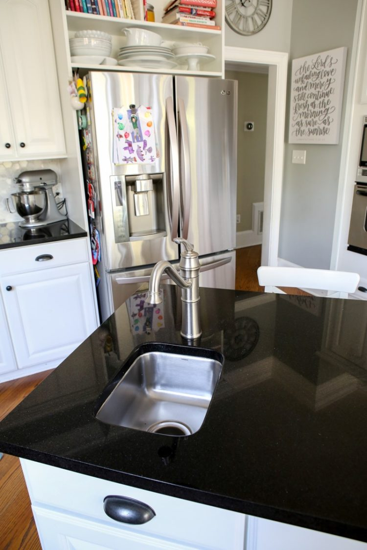 bathroom countertops thickness