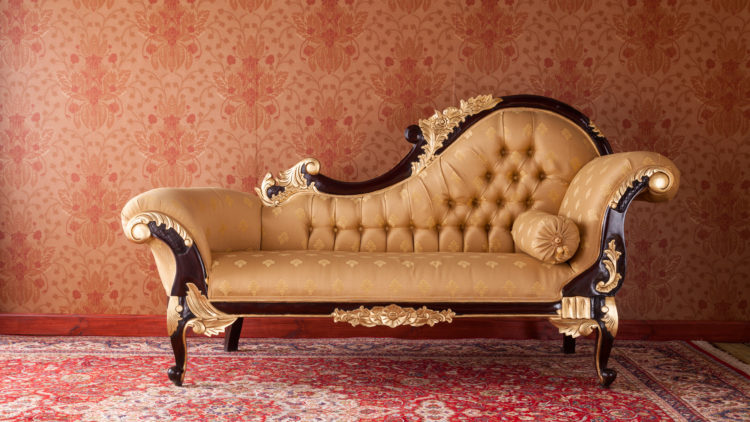 long fainting couch