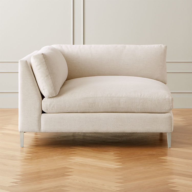 black fainting couch