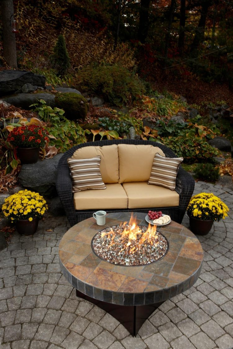 ebel fire pit table
