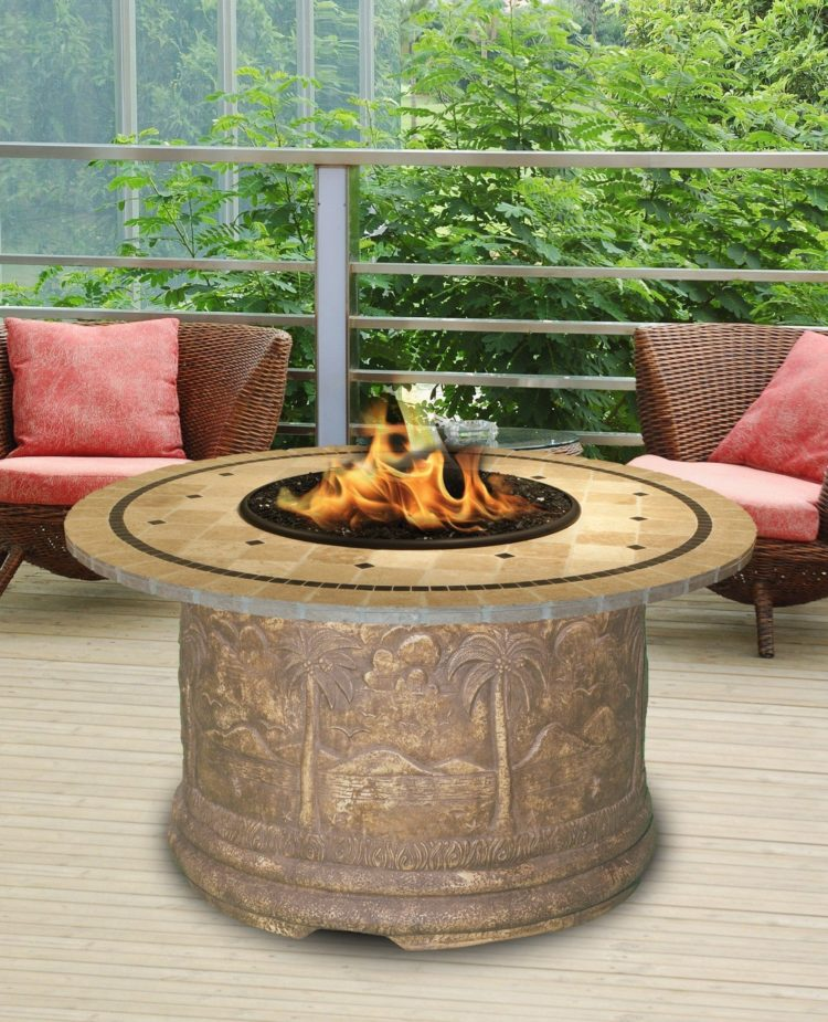 fire pit table frame