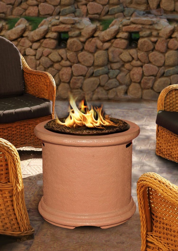 fire pit table for cooking