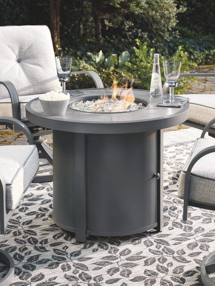 ethanol fire pit table