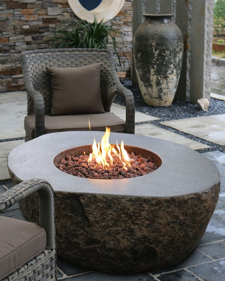 fire pit table for patio