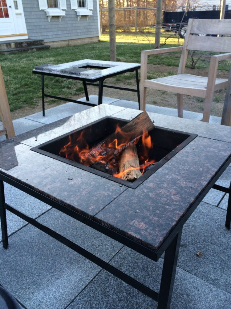 fire pit table homebase
