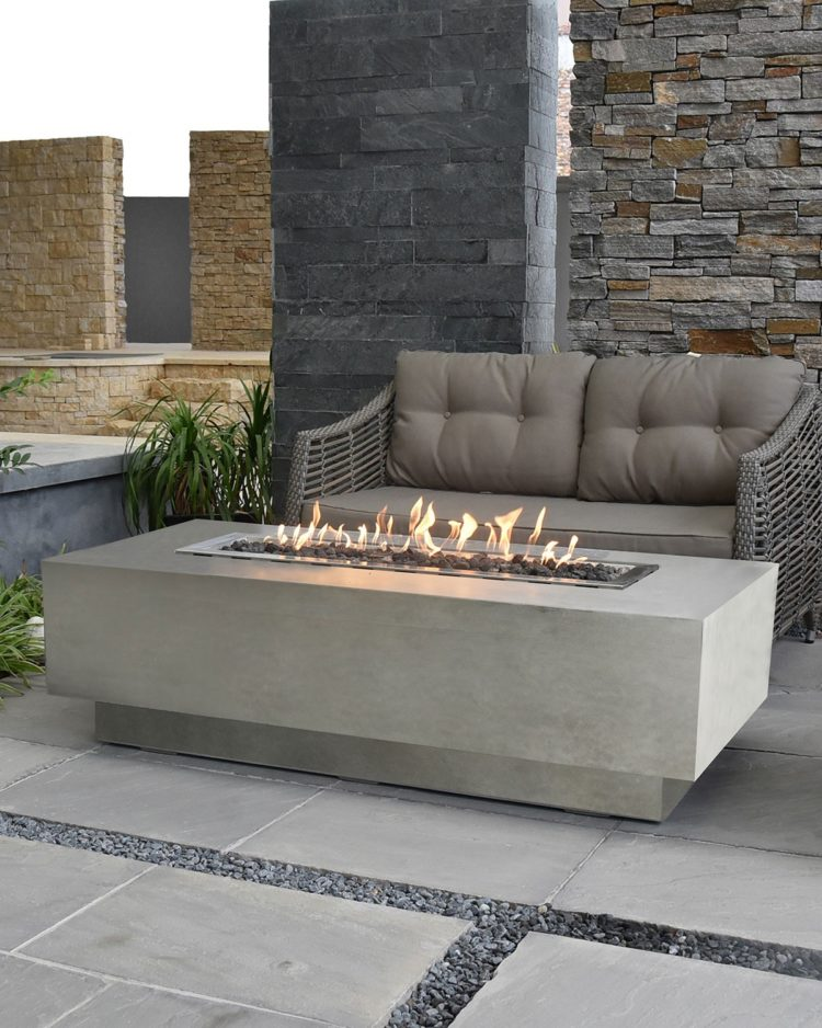 fire pit end table