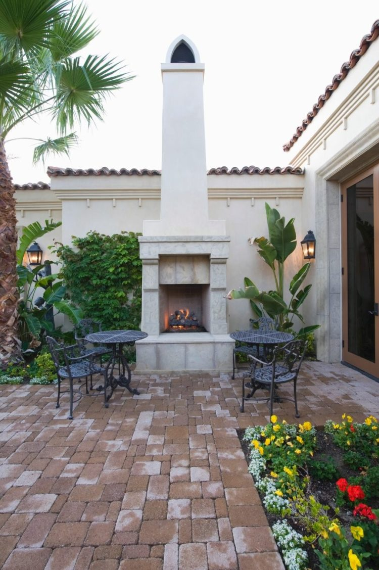 outdoor fireplace kits arizona