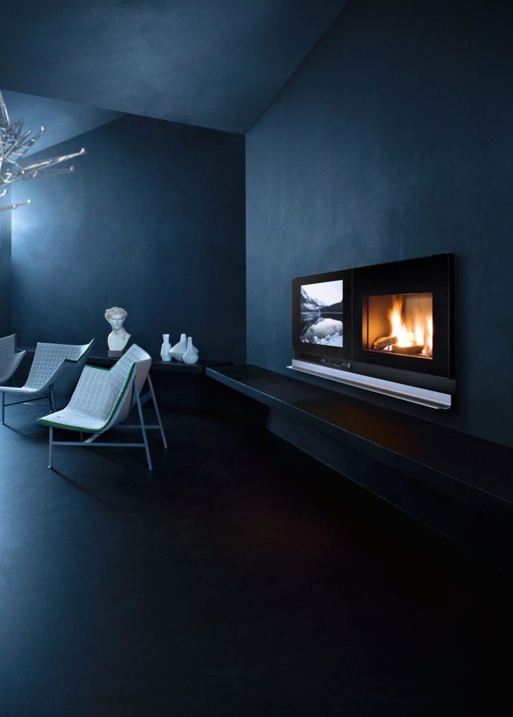 ventless gas fireplace codes