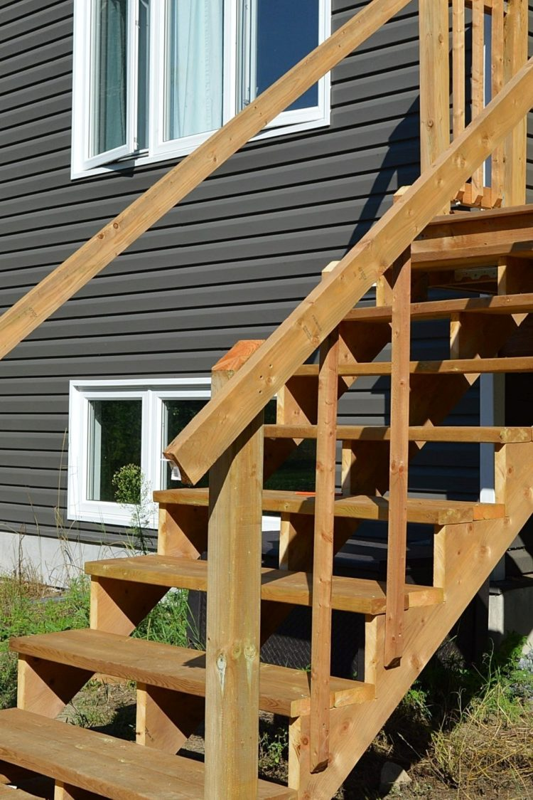 deck railing ideas rona