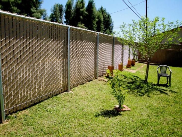 chain link fence hog rings