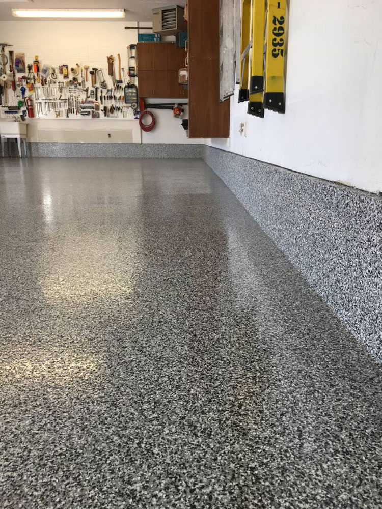 garage floor epoxy grey