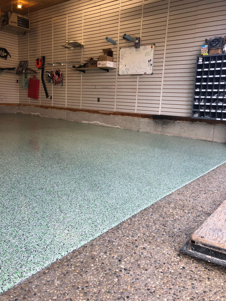 garage floor epoxy gta