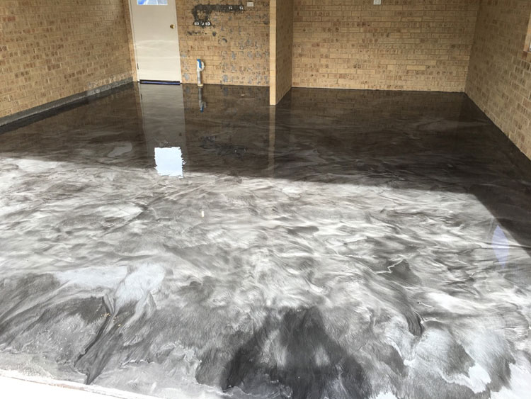 garage floor epoxy kit menards