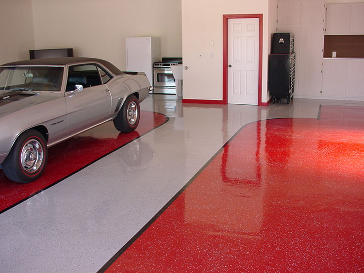 garage floor epoxy new concrete