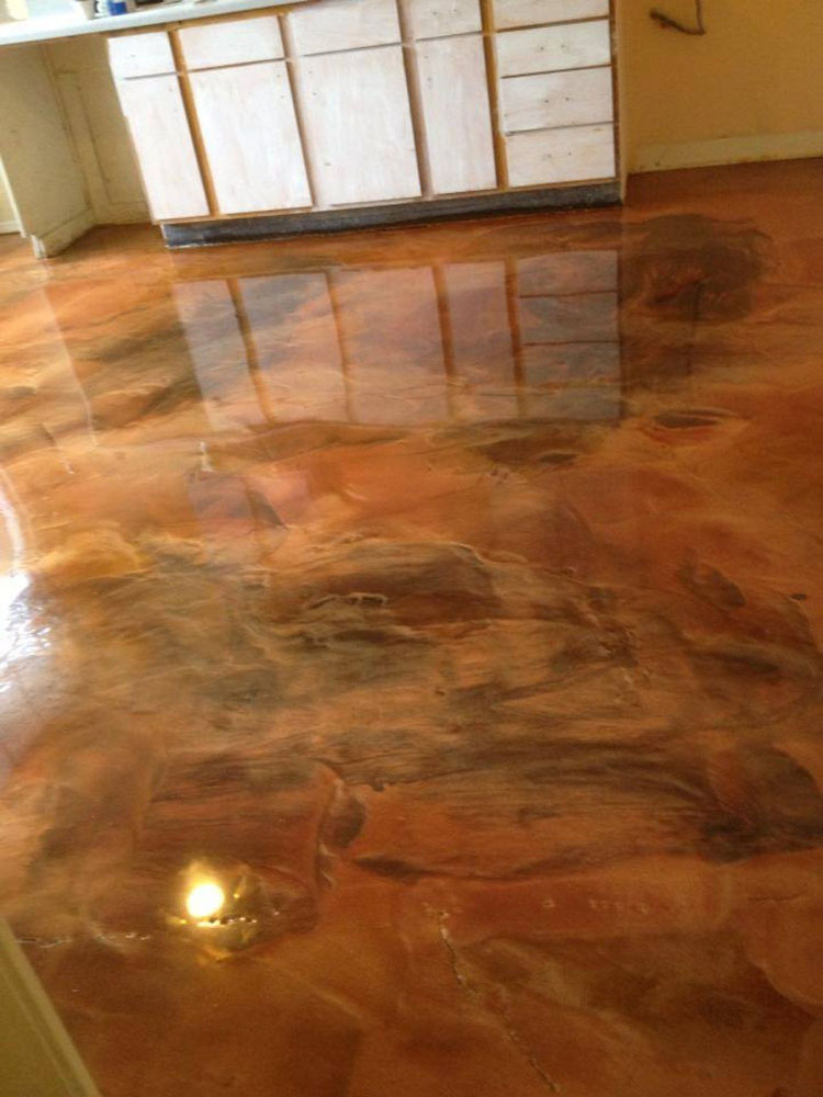garage floor epoxy marble