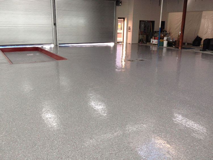 garage floor epoxy outside