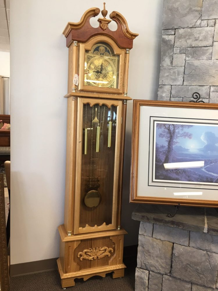 h l hubbell grandfather clock