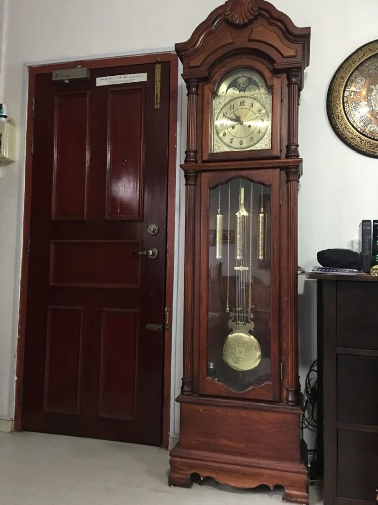 nelson h brown grandfather clock