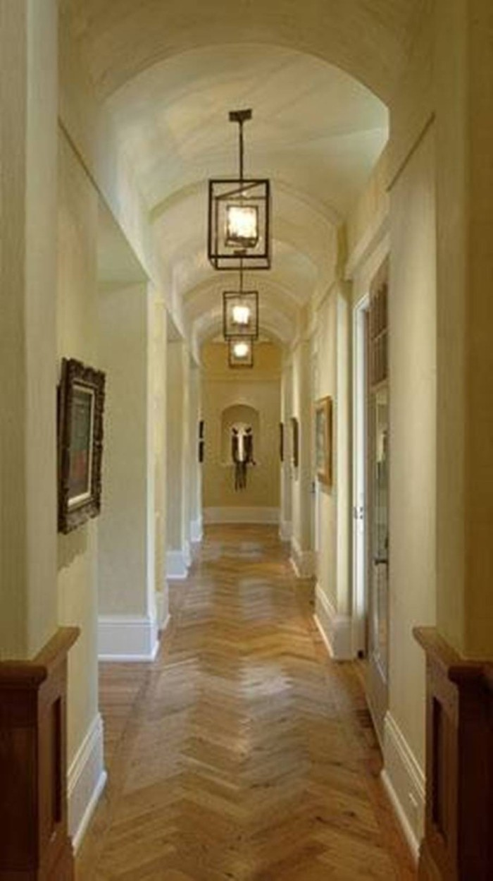 hallways gallery wall