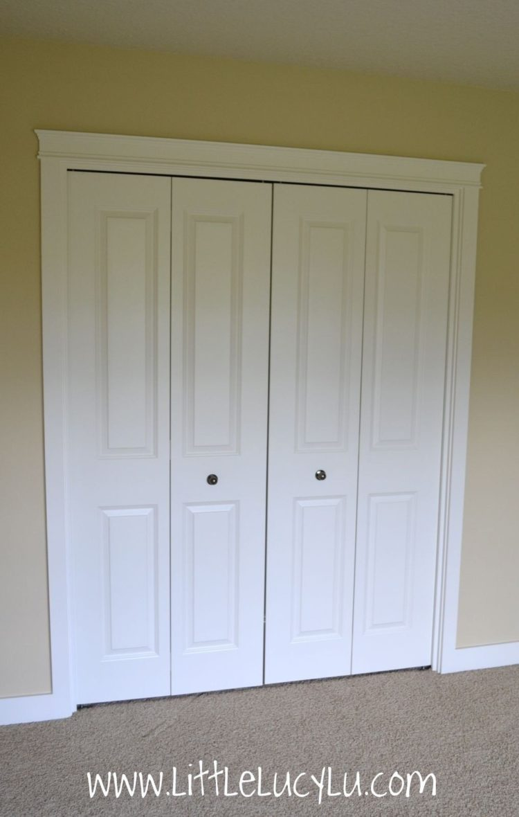 high end bifold closet doors