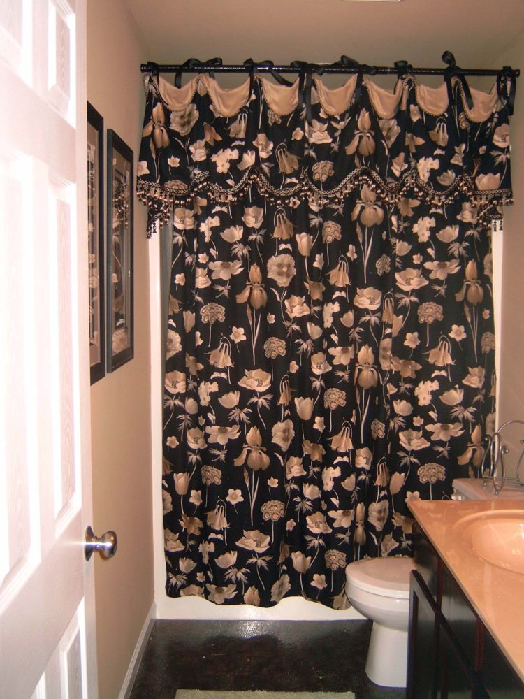 hookless shower curtain 80 inches long