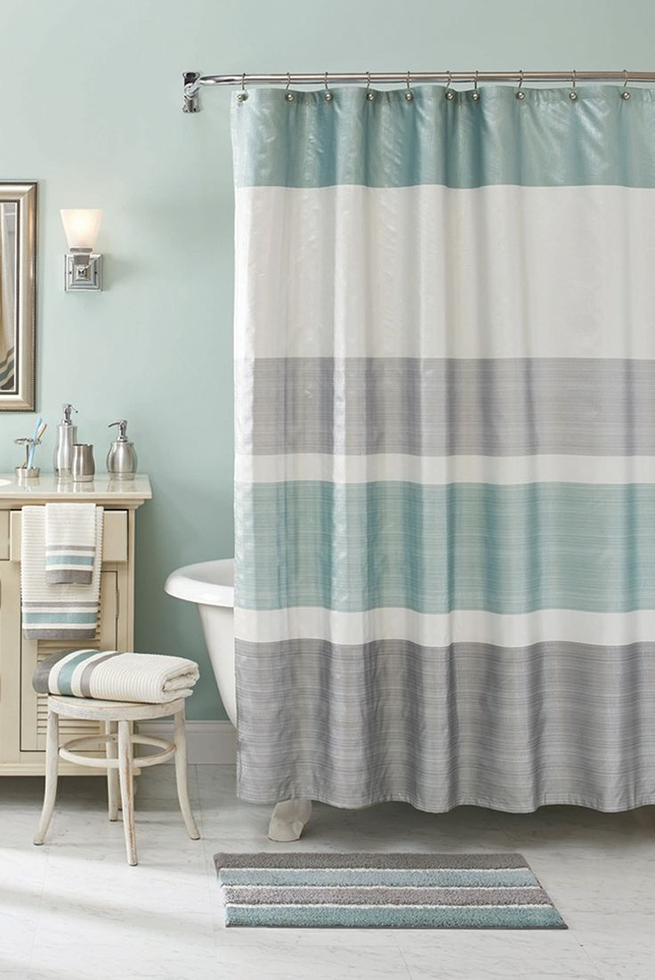 hookless shower curtain jcpenney