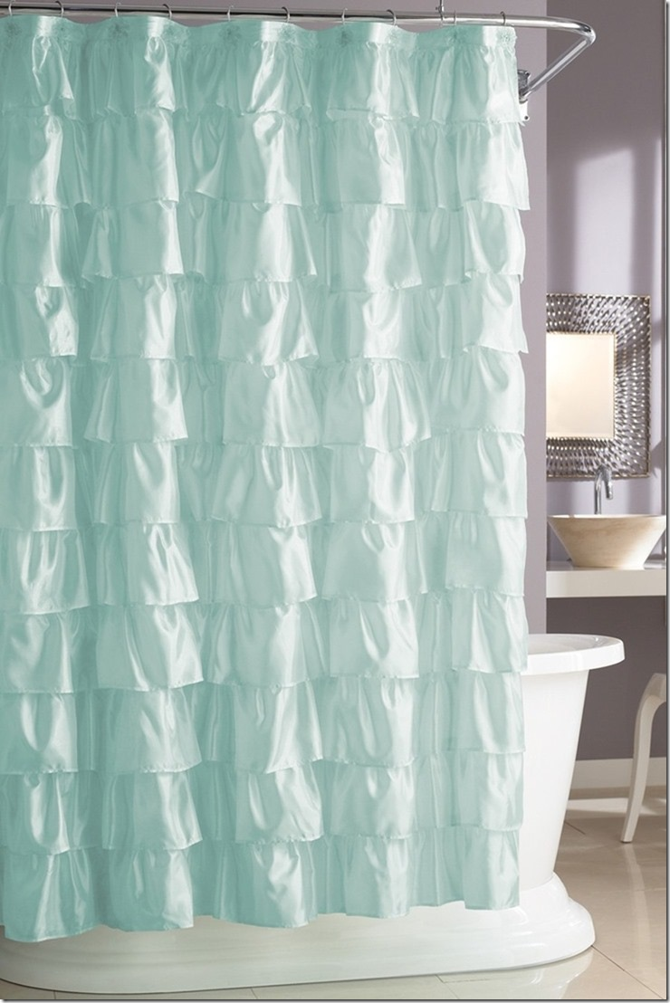 hookless diamond jacquard shower curtain with built in liner