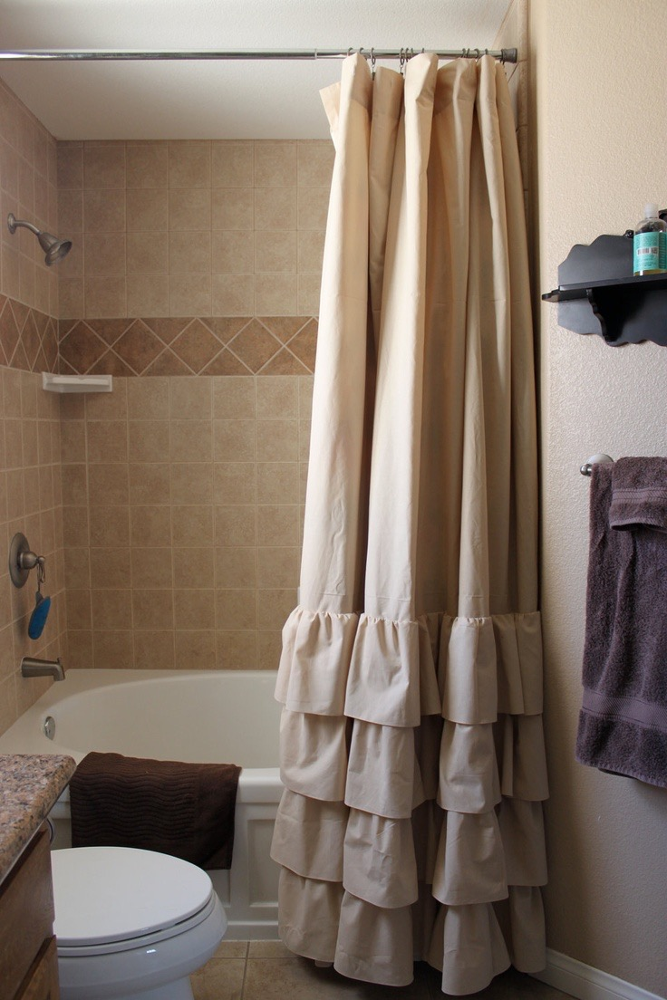 hookless double h shower curtain