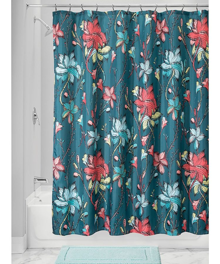hookless shower curtain measurements