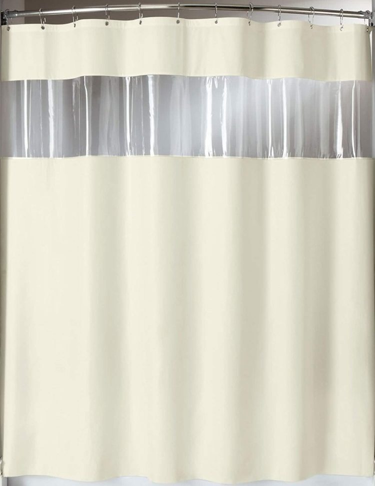 hookless shower curtain home hardware