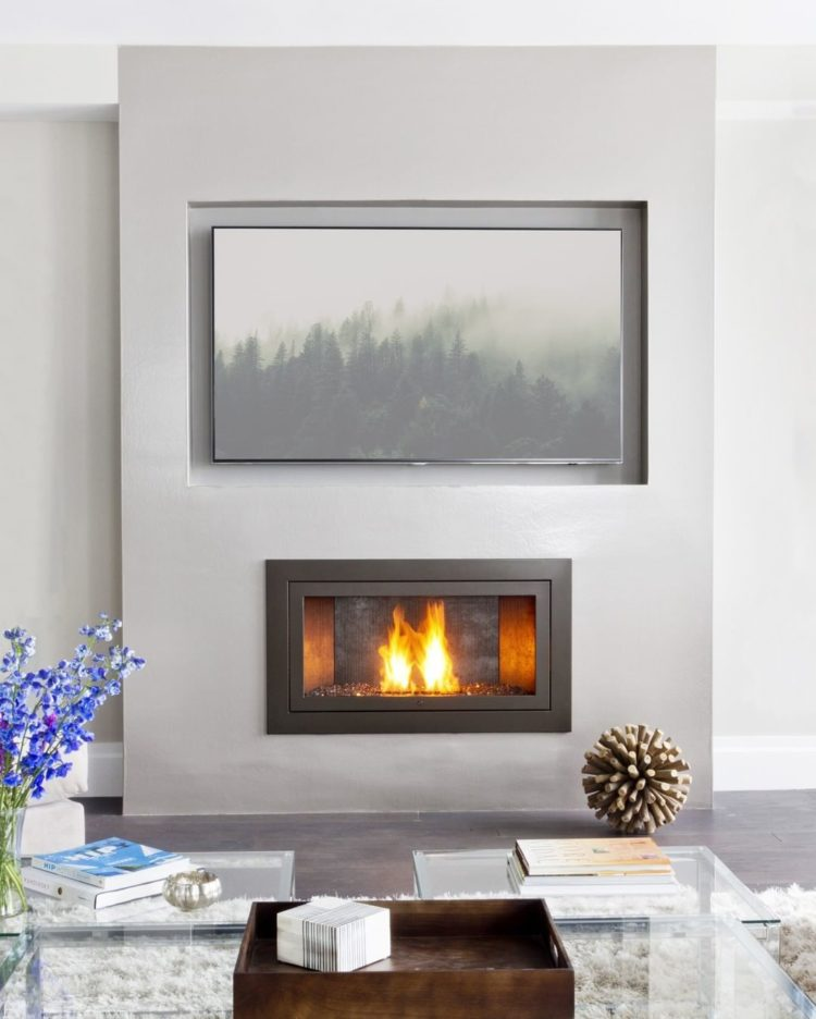 ventless gas fireplace black soot